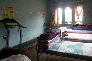 Dormitory at the Nazhoen Pelri Rehabilitation Center in Thimphu